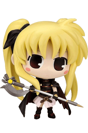 Fate Testarossa 'Soft Vinyl Figure' (Mahou Shoujo Lyrical Nanoha The Movie 1st)