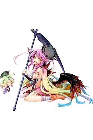 Jibril with Azriel 'Great War Ver.' (No Game No Life: Zero)